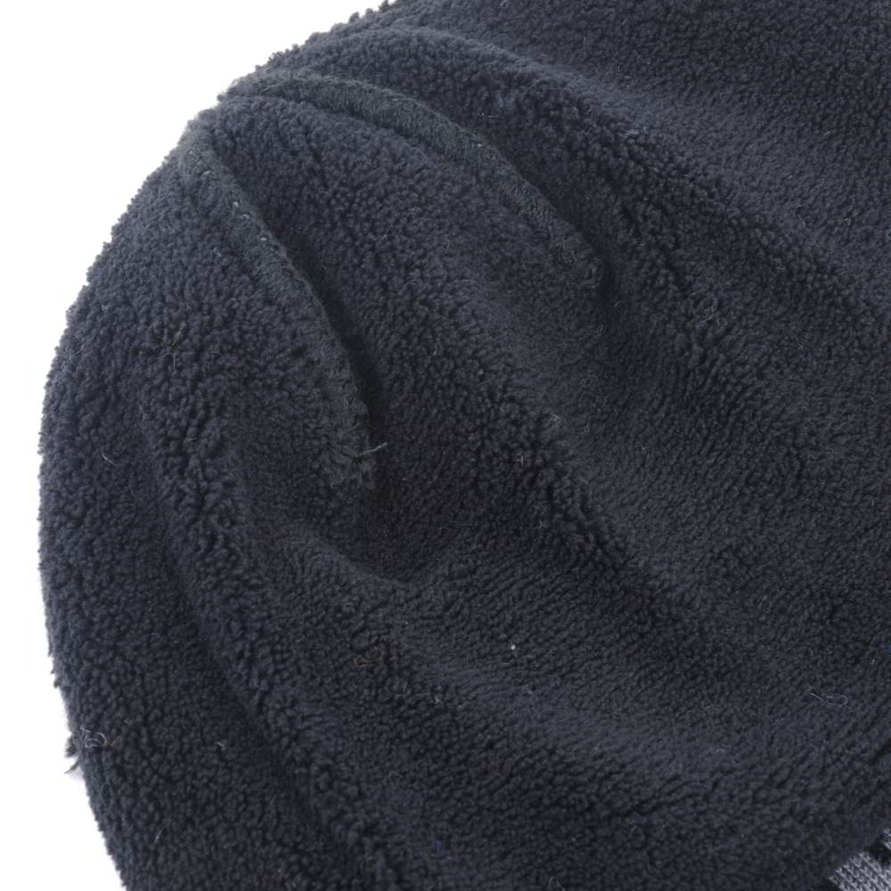 jacquard logo earflap winter beanies