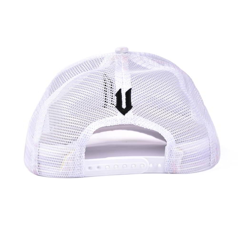 plain 3d embroidery white baseball trucker caps