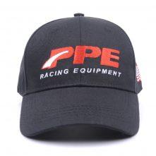plain embroidery logo black baseball caps sports hats