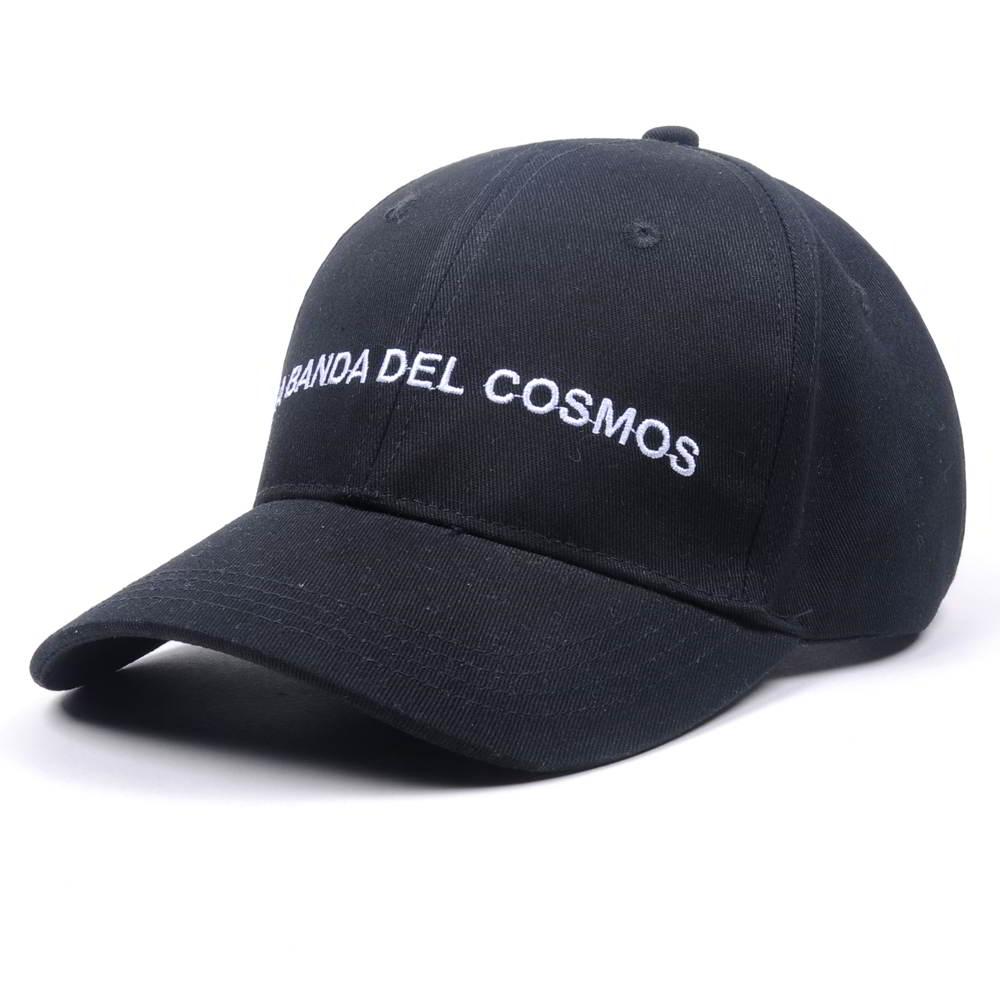 plain embroidery logo black baseball sports hats