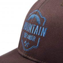 plain logo embroidery baseball trucker caps