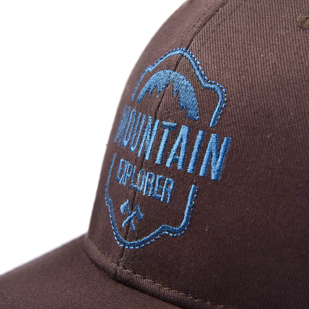 plain logo embroidery baseball trucker caps