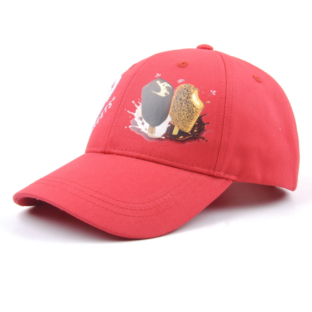 printing logo red baseball caps sports hats