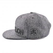 3d embroidery metal wool snapback hats