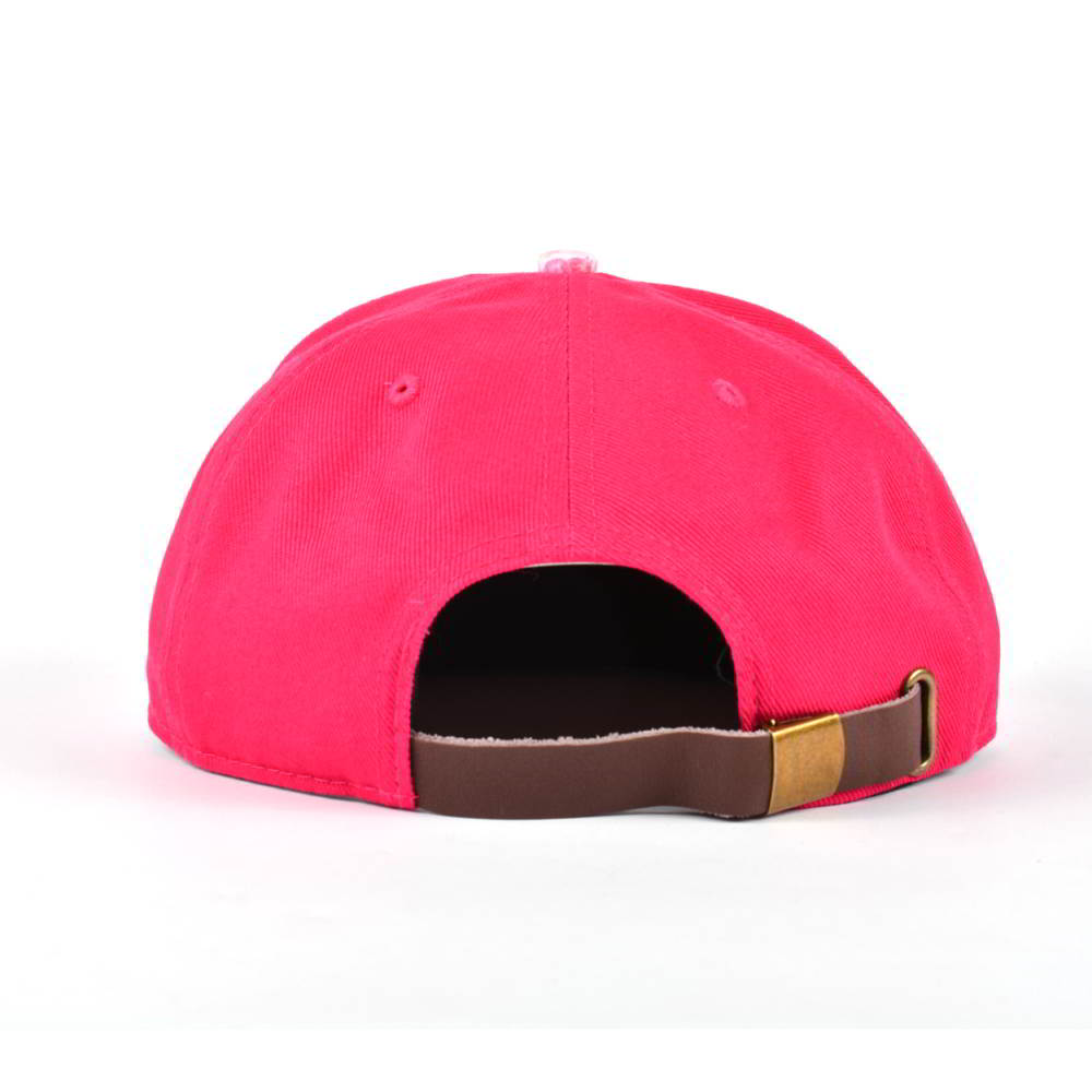 5 panels leather patch children snapback hats