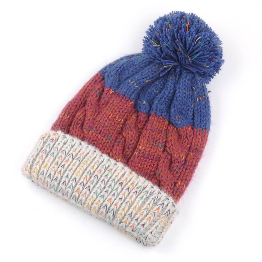 blank winter caps pom slouchy warm beanies