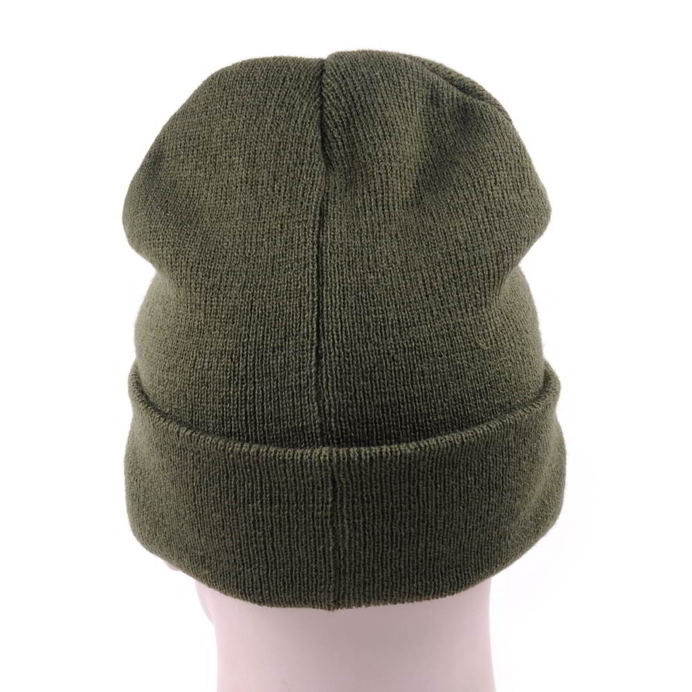 leather patch slouchy winter beanies hats