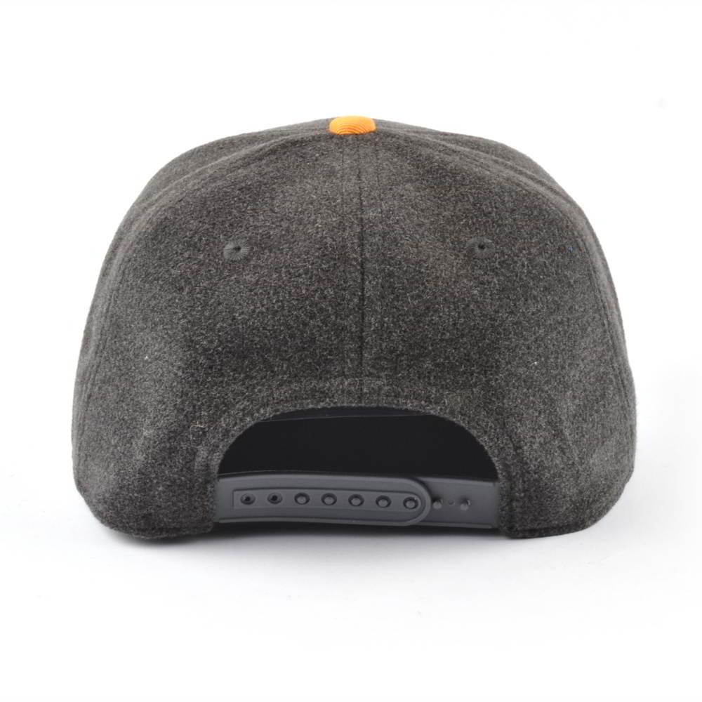 plain blank no logo two tone snapback hats