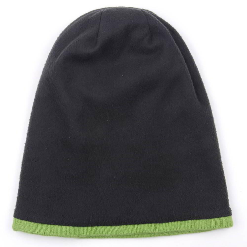 plain jacquard logo winter knit beanies