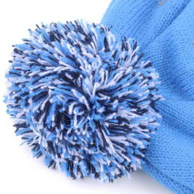 pom winter knit hats earflap beanies