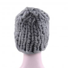 warm knitted winter beanies hats custom