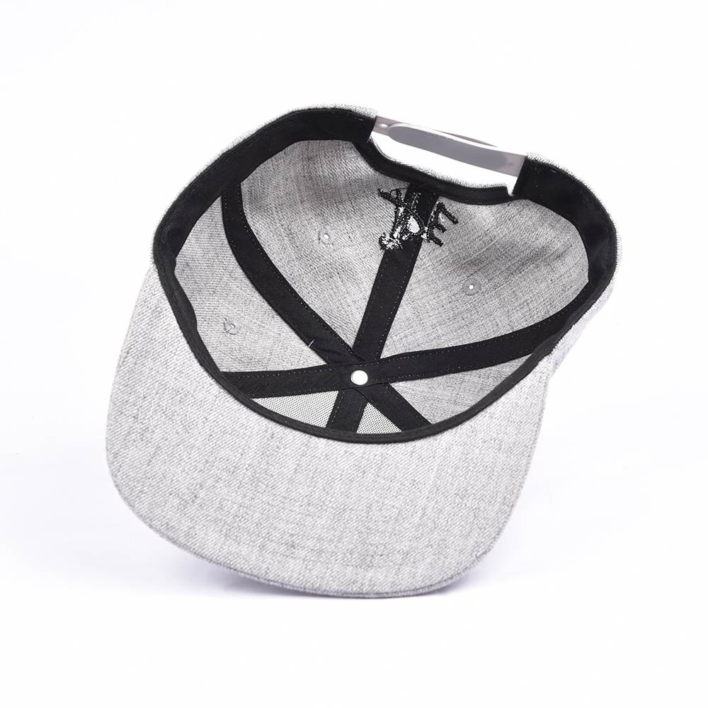 3d embroidery acrylic wool snapback hats