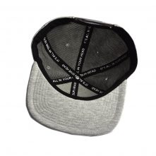 3d embroidery letters logo gray snapback hats