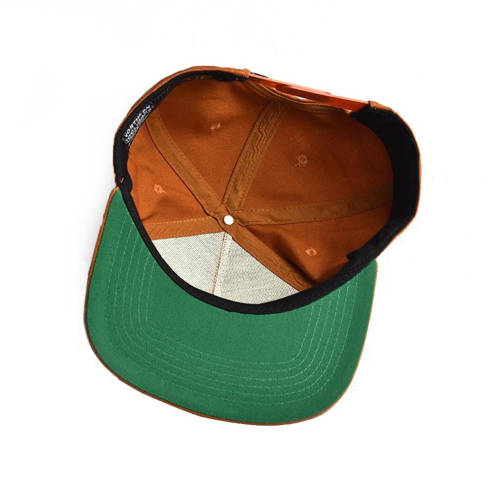 5 panels label patch snapback hats