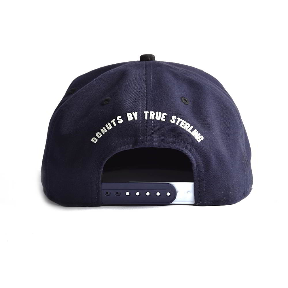 5 panels rubber patch snapback hats