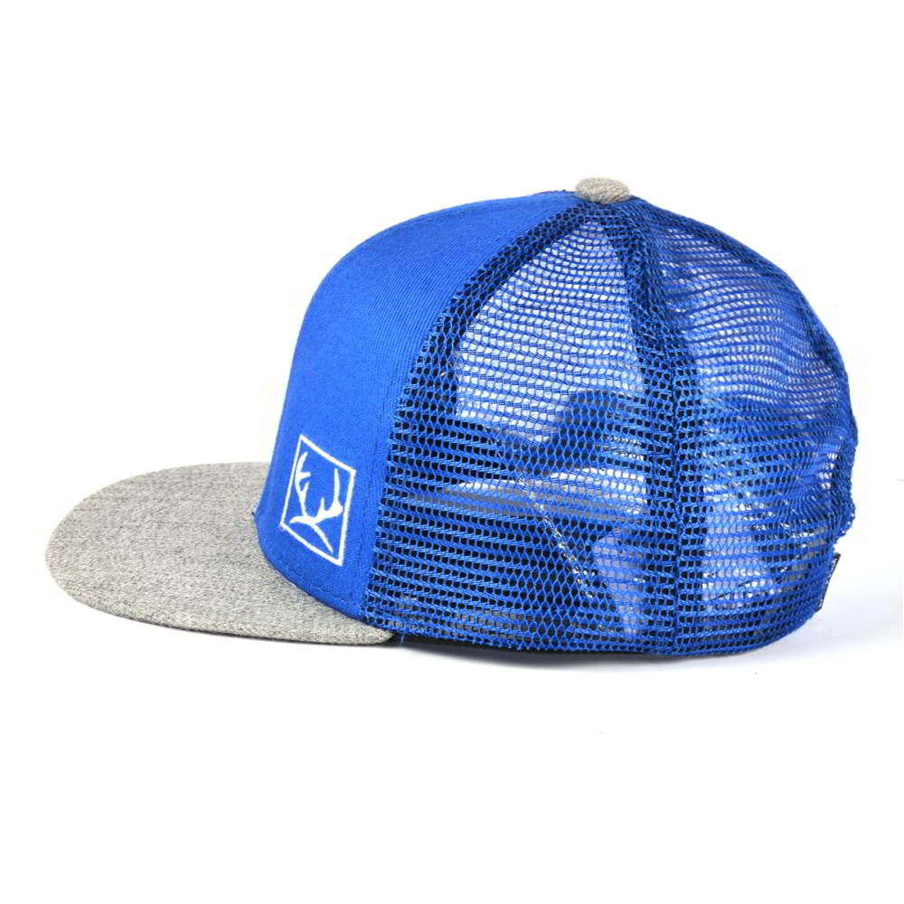 acrylic wool flat bill snapback mesh trucker caps