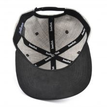blank no logo acrylic wool suede brim snapback hats