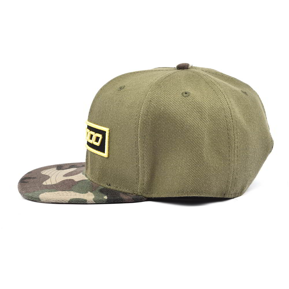 camouflage brim embroidery patch plain snapback hats
