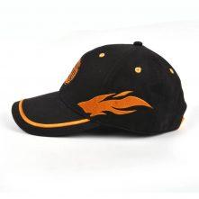 design embroidery sports black baseball caps