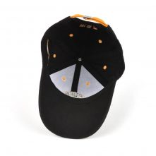design embroidery sports black baseball caps