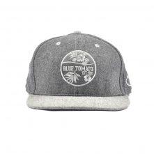 embroidery logo metal wool snapback caps