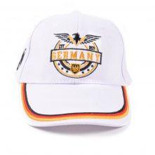flat embroidery white sports baseball caps