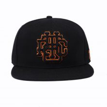 plain 3d embroidery black snapback cpas