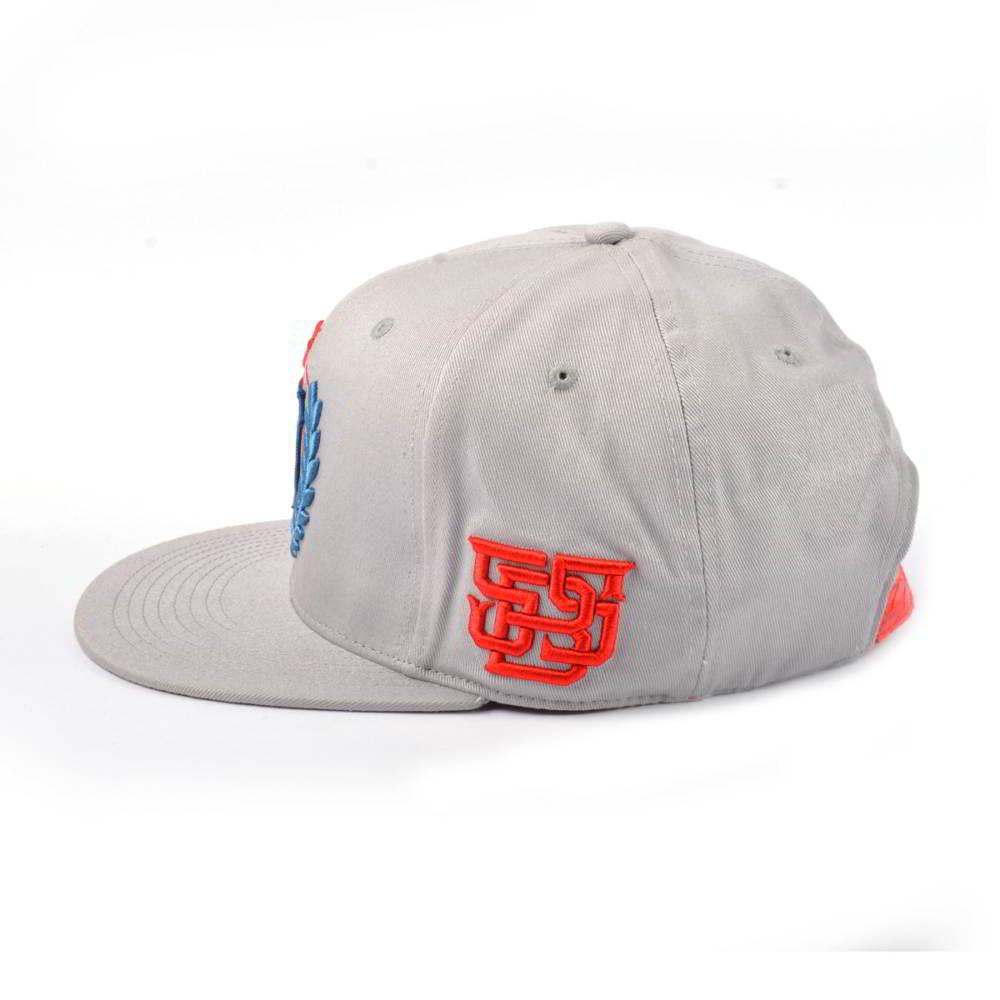 3d embroidery adjustable snapback caps custom