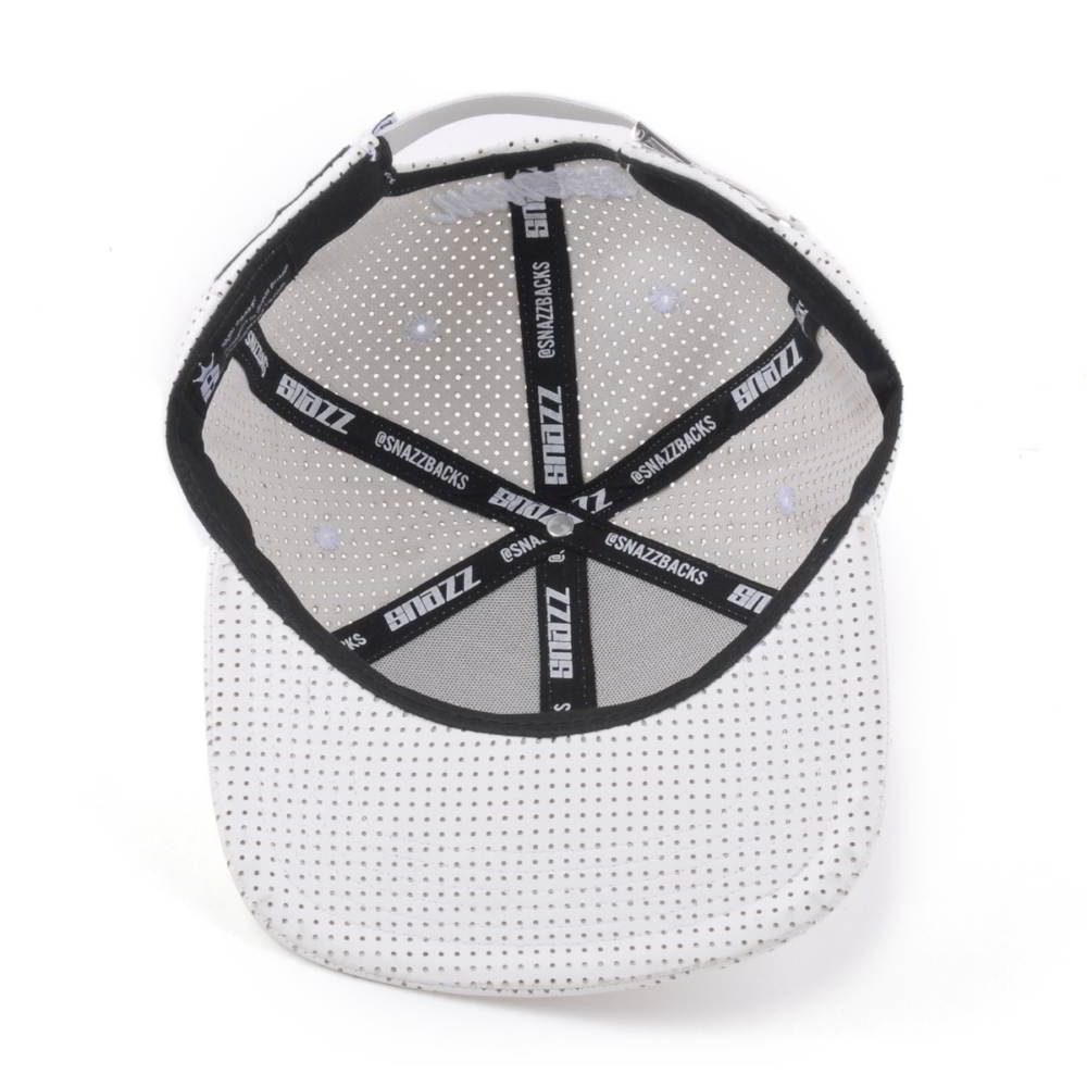 3d embroidery white snapback mesh trucker caps