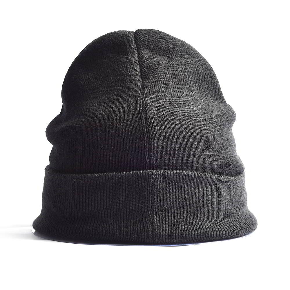 black cartoon cuffed warm winter beanies hats