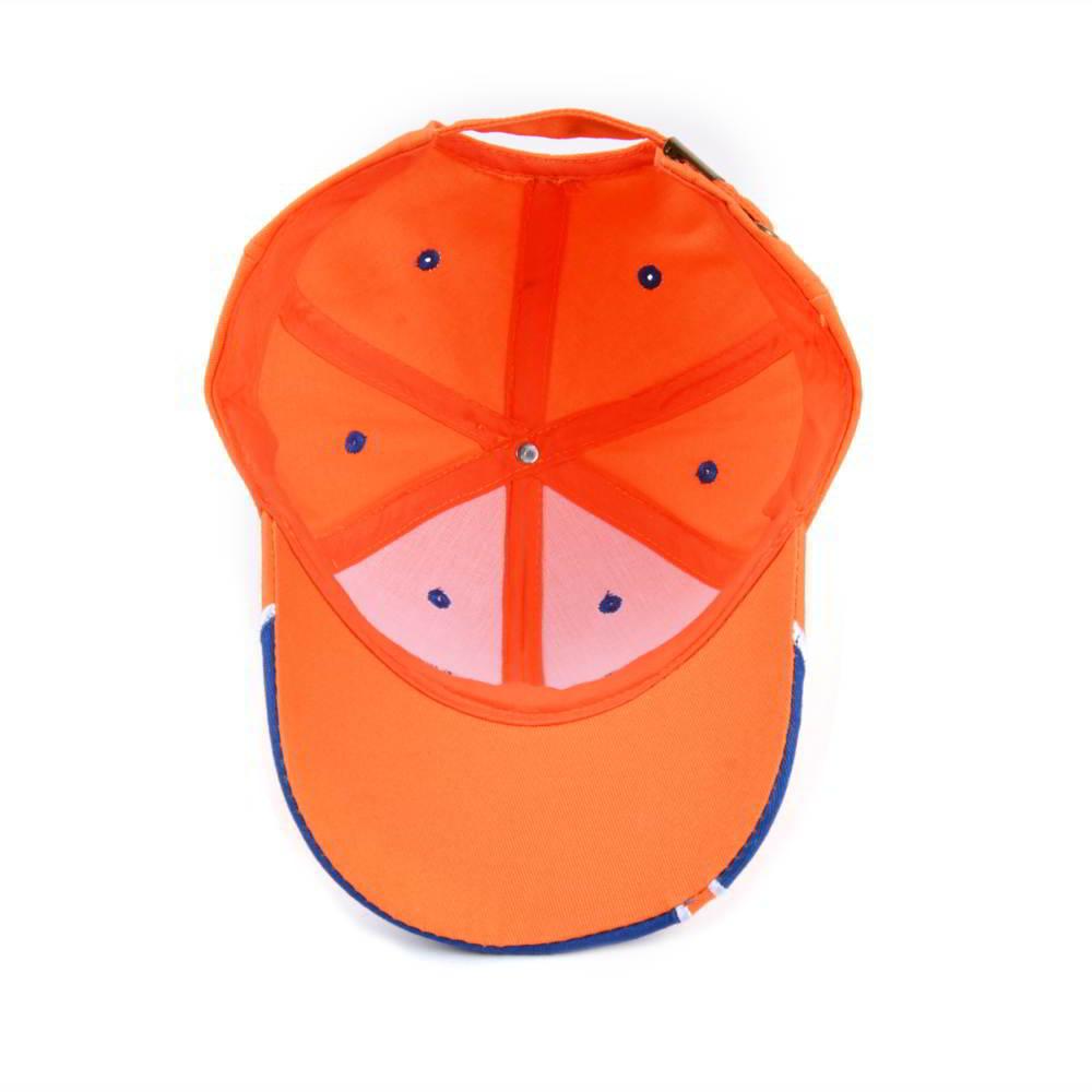 embroidery logo 6 panels cotton sports baseball hats