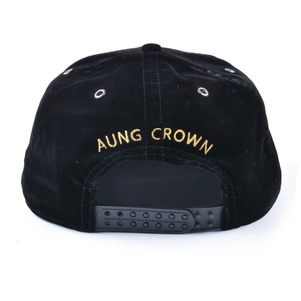 embroidery patch leather brim velvet snapback hats