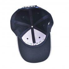 flat embroidery 6 panels baseball hats custom