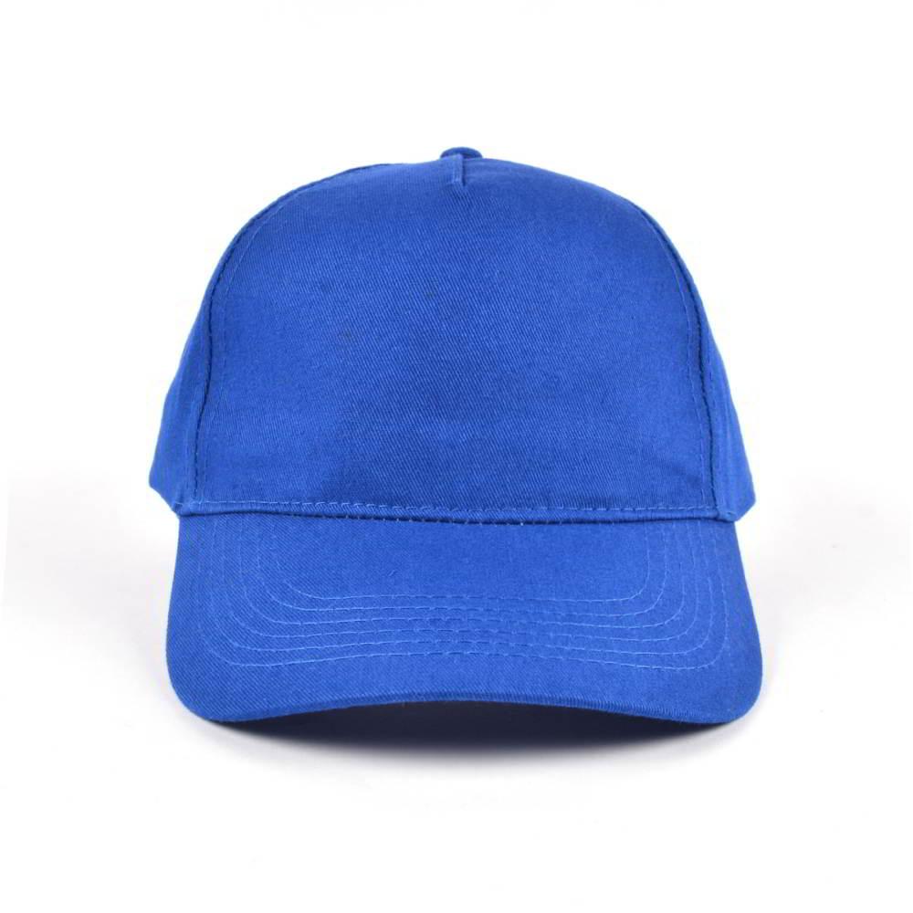 5 panels cotton no logo blank baseball hats