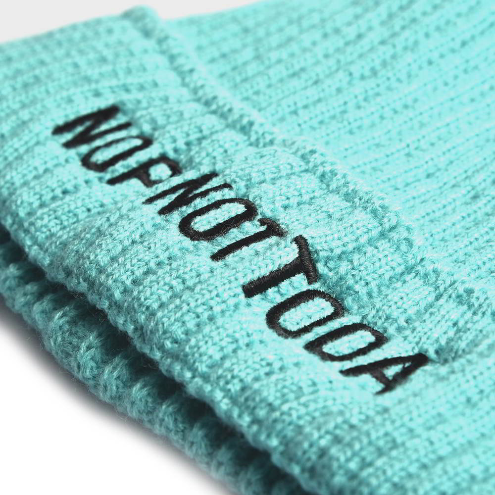 plain embroidery letters winter beanies custom