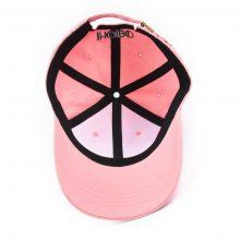 plain embroidery pink women baseball sports hats