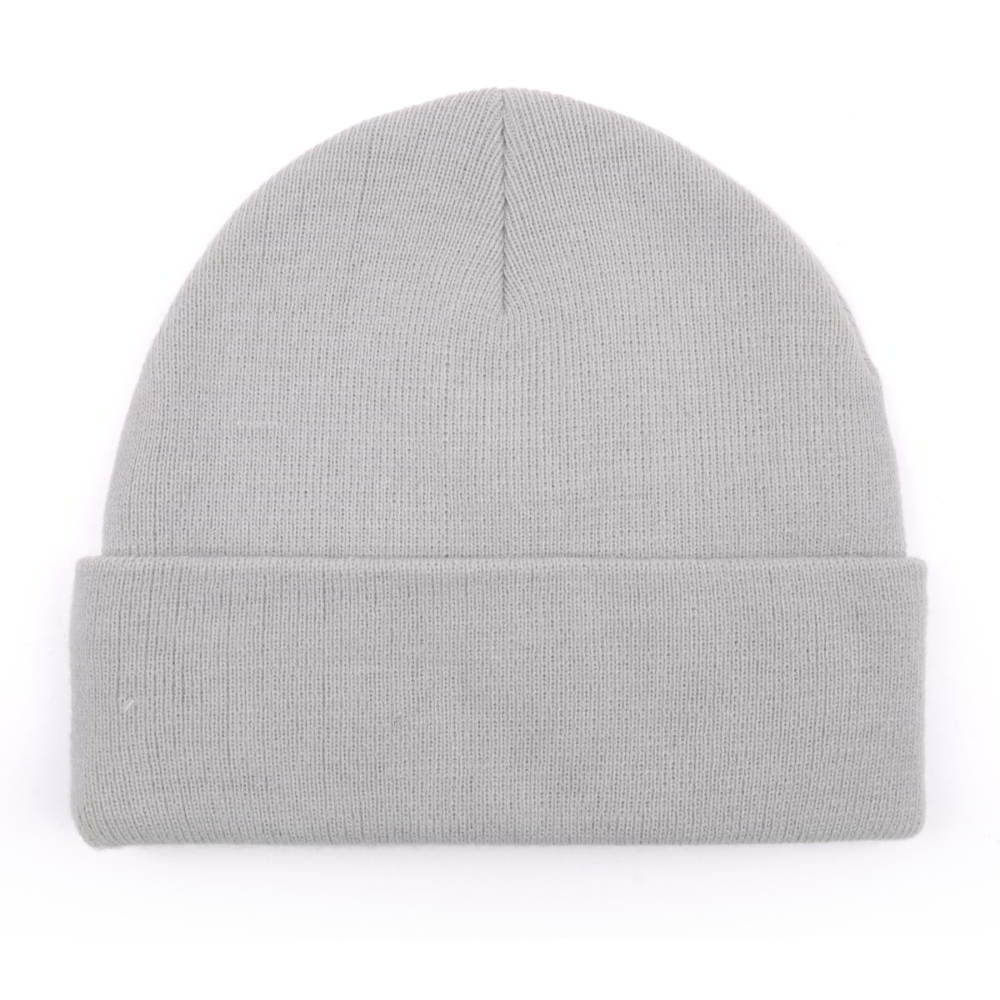 plain letters embroidery cuffed winter hats beanies