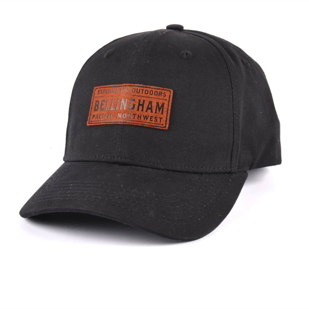 plain logo black baseball hats custom