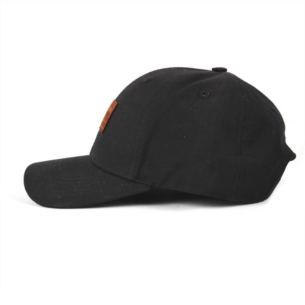 plain logo black baseball hats