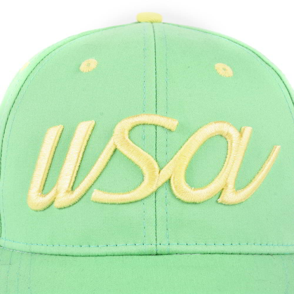 puff embroidery 6 panels cotton baseball hats