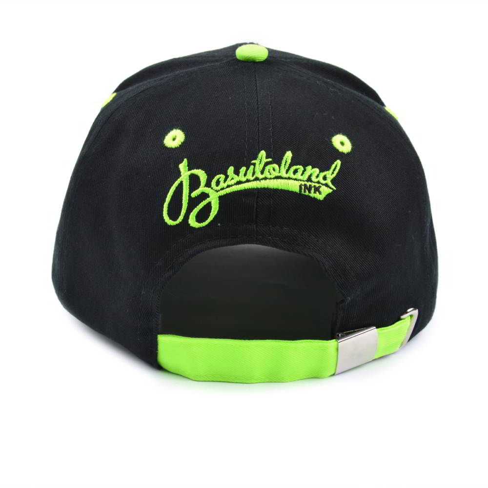 puff embroidery logo two color baseball hats