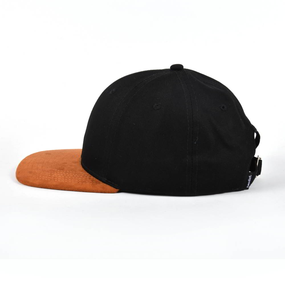 suede brim plain blank baseball caps without logo