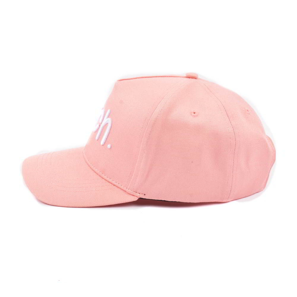 5 panels 3d embroidery pink baseball hats