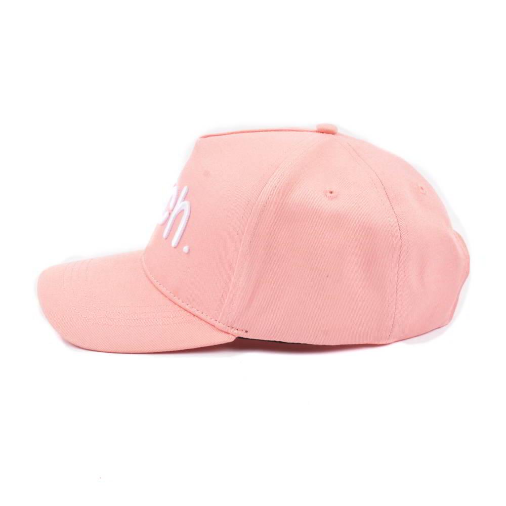 5 panels 3d embroidery pink baseball hats