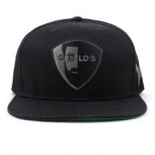 flat embroidery black snapback hats on sales