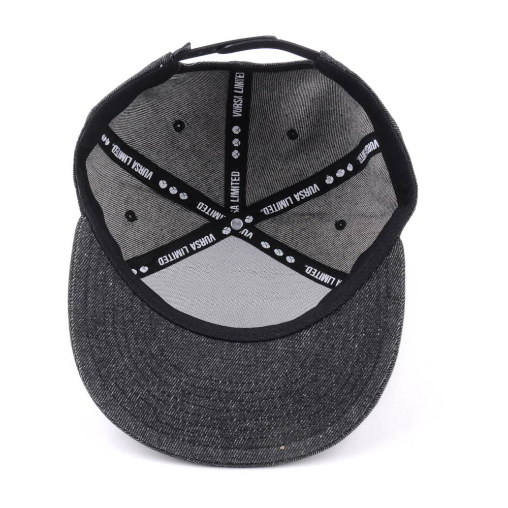special 6 panels denim 3d embroidery snapback caps