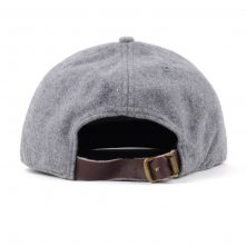 special 6 panels metal wool gray snapback hats