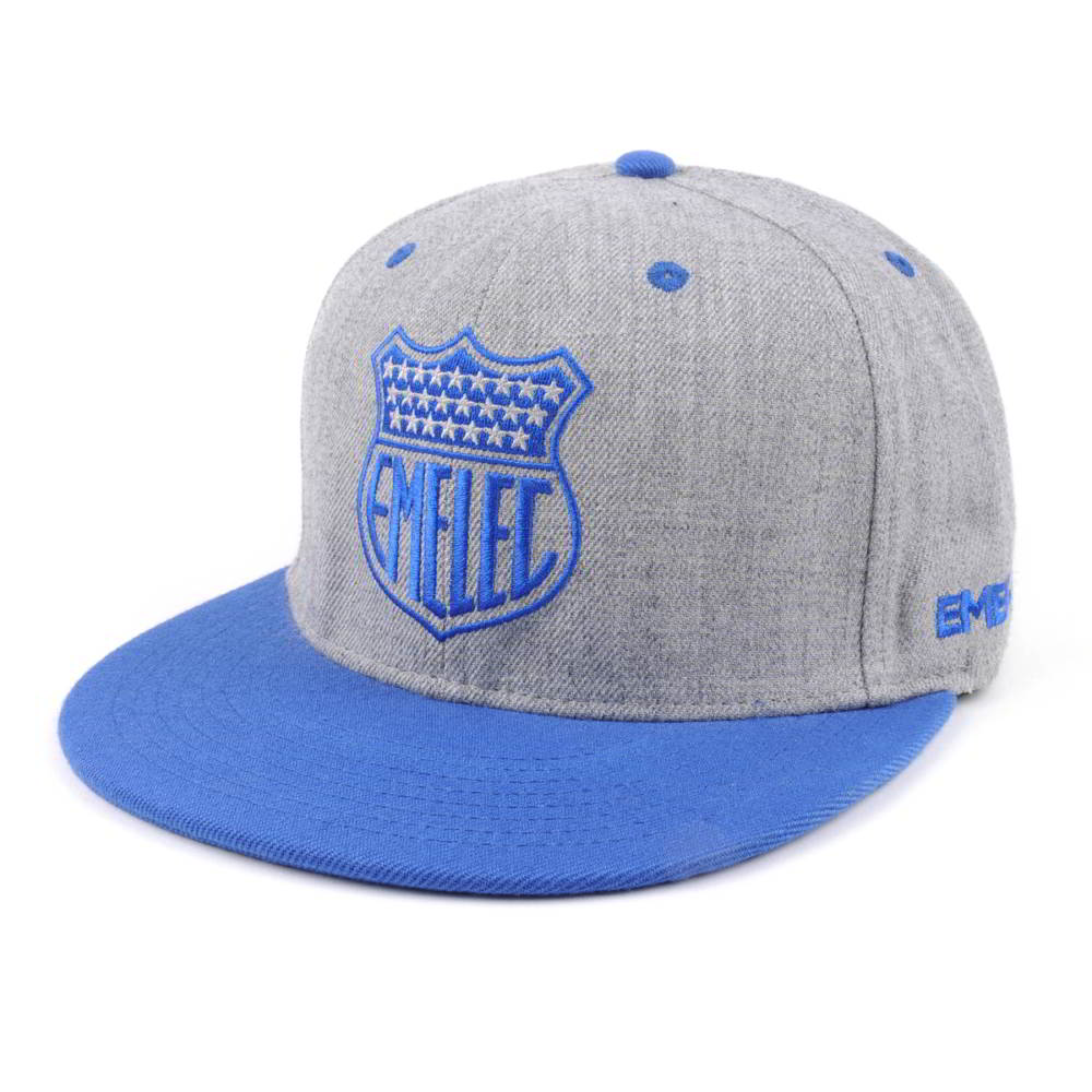 two color acrylic wool snapback embroidery hats