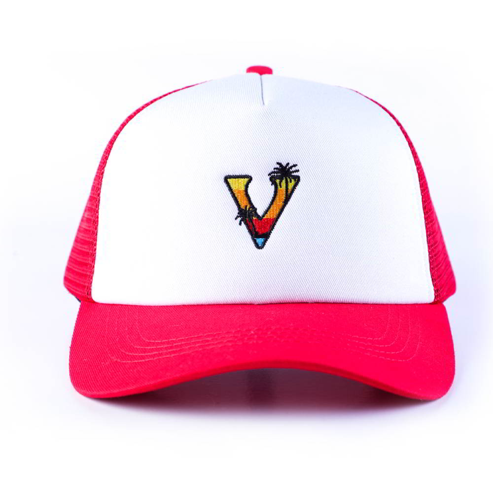 5 panels vfa embroidery baseball trucker mesh hats