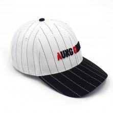aungcrown embroidery logo two color baseball hats